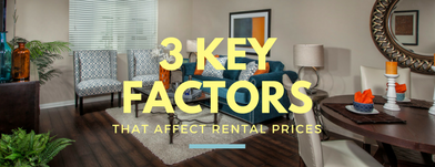 3 Keys Factors that Affect Rental Prices