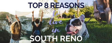 Top 8 Reasons to Live in South Reno [Infographic]