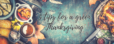 5 Ways to Have a Green Thanksgiving