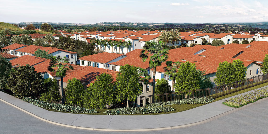 Santa Barbara apartments in Chino Hills Spanish Style