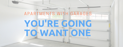 An Apartment with a Garage? Yeah, It's kind of a Big Deal