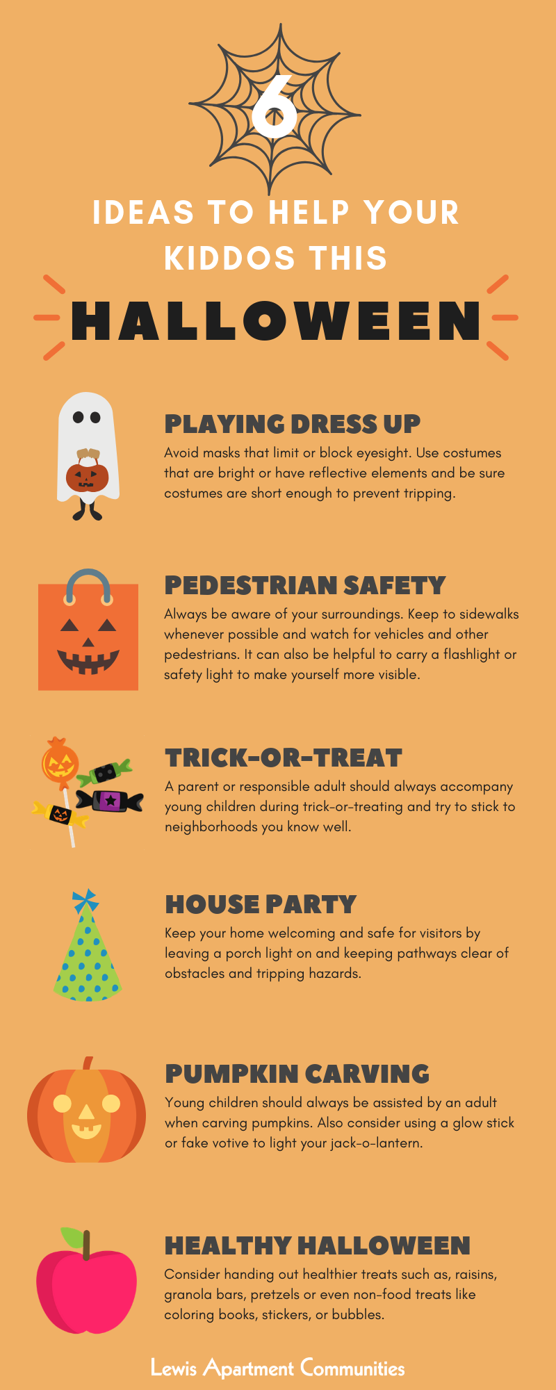 6 Ideas to Help your Kiddos this Halloween